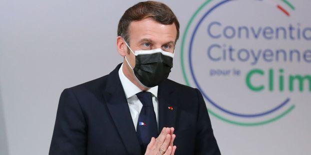 COVID-19: le président français Emmanuel Macron diagnostiqué positif