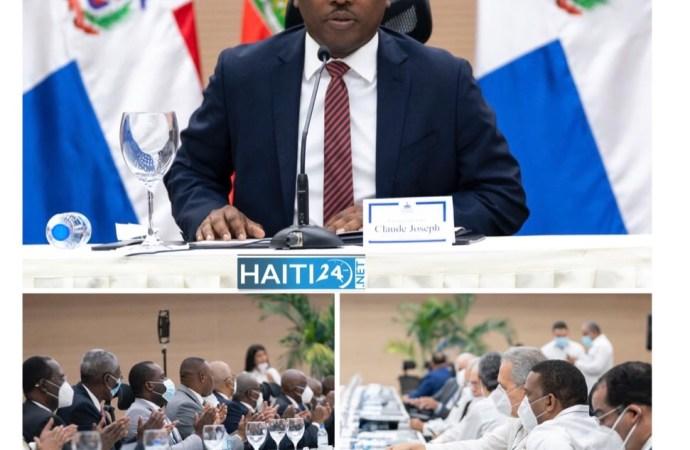 « Le projet de la nouvelle constitution répondra aux exigences démocratiques universelles », promet Claude Joseph