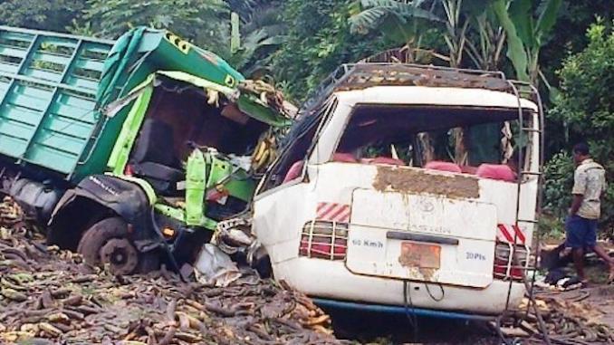 8 morts, 41 blessés bilan de 18 accidents de circulation