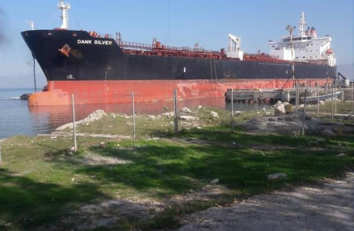 Nouvel arrivage de produits pétroliers dans le pays