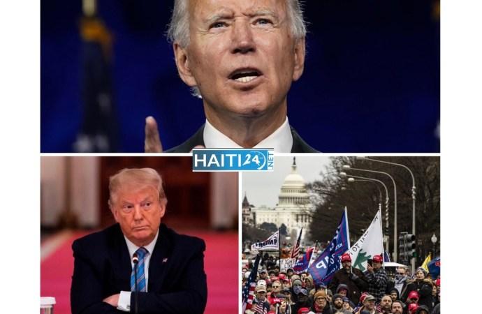Invasion au Capitole : Joe Biden exhorte Donald Trump à appeler ses partisans à se replier