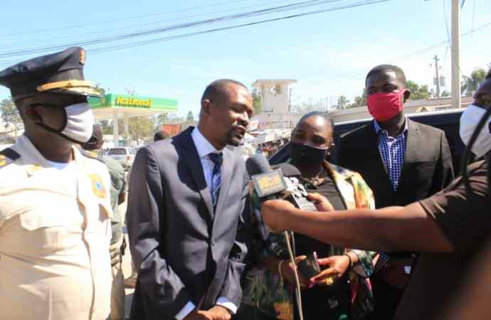 Croix-des-Bouquets : le maire Jean Wesnel E. Pervil veut s'attaquer au phénomène de l'insécurité