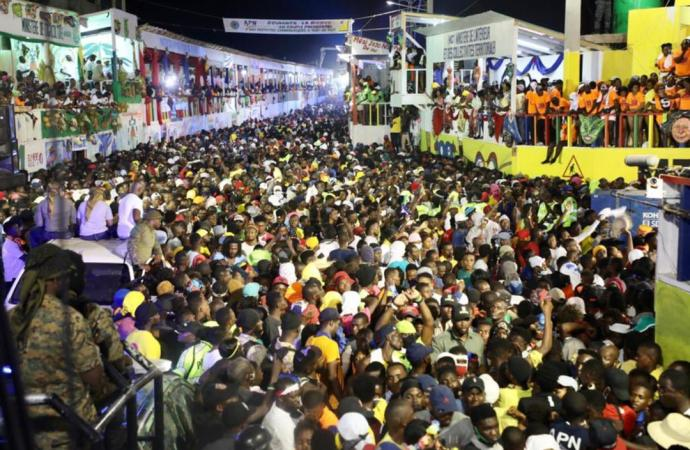 Carnaval national 2021 : 14 personnes interpellées, plusieurs blessures légères enregistrées