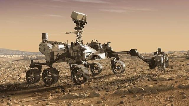 Le Robot Perseverance atterrit sur le sol martien après sept mois de voyage