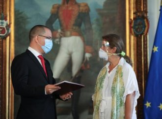 International : le Vénézuela expulse l'ambassadrice de l'Union européenne