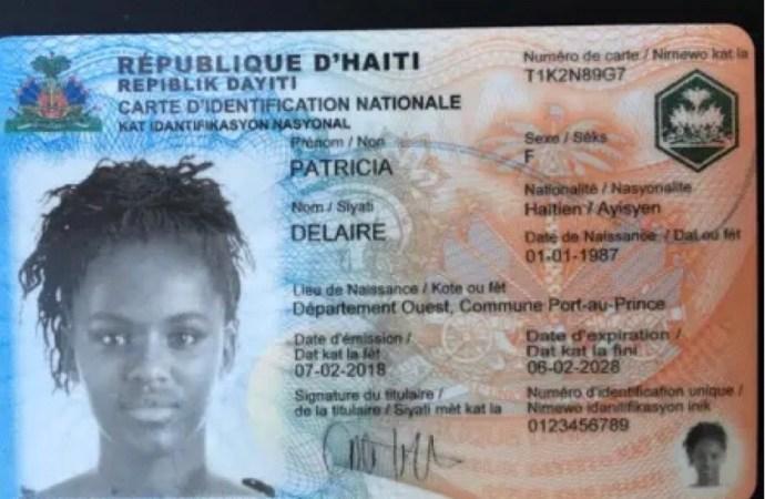 Le numéro de la Carte d'identification Nationale est obligatoire dans tous les actes civils, commerciaux, judiciaires, extrajudiciaires…
