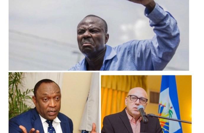 Victime d'attaque verbale, Jean Charles Moïse pointe du doigt Réginald Boulos, Youri Latortue et un journaliste