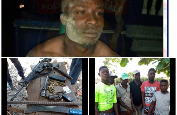 Saint-Raphaël : 6 présumés bandits arrêtés, une arme à feu et des munitions saisies