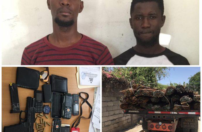 Croix-des-bouquets : deux individus dont un policier sous les verrous pour détournement de marchandises