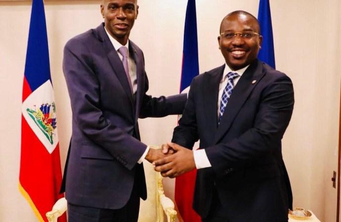 Le Premier ministre a.i Claude Joseph investi dans ses fonctions