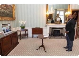 Le premier ambassadeur d'Haïti au Royaume-Uni, Euvrard Saint Amand, a remis ses lettres de créance à la reine Elizabeth II