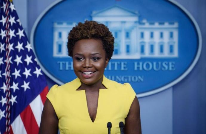 Etats-Unis : Karine Jean-Pierre, d'origine haïtienne, entre dans l'histoire de la Maison Blanche
