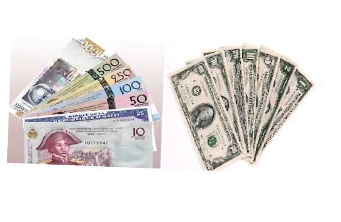 Taux de référence : la BRH affiche 90,68 gourdes pour un dollar US