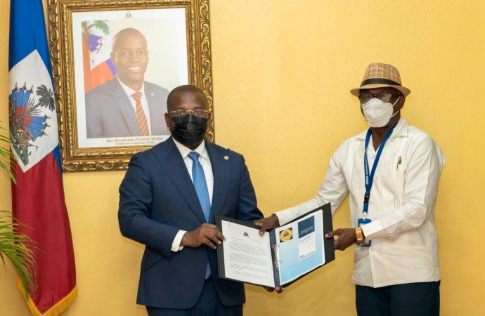 Sécurité : Claude Joseph reçoit de la CNDDR le document final de la Stratégie nationale de désarmement