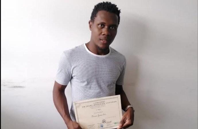 """Concours """"Jeune historien guyanais"""" : Un Haïtien remporte le premier prix"""