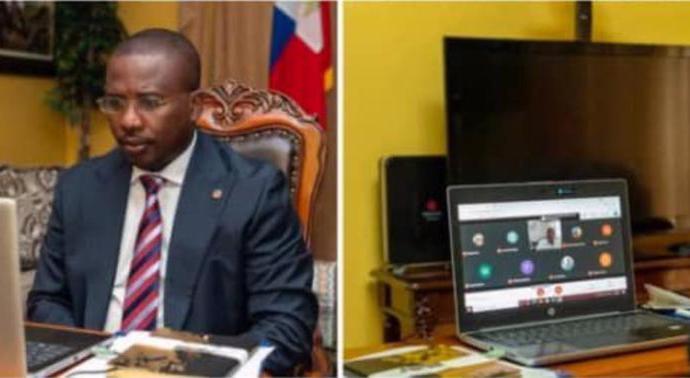 État d'urgence sanitaire : Claude Joseph préside son deuxième conseil de gouvernement