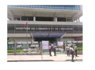 Coronavirus : Le ministère du Commerce et de l'Industrie ferme ses portes pour décontamination pendant deux jours