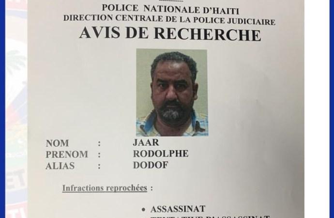 Affaire Jovenel : Rodolphe Jarr recherché par la police, son grand frère lui demande de se rendre à la justice