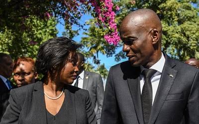 « Jovenel Moïse est victime d'un complot », révèle Martine Moïse