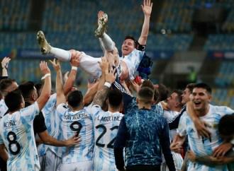 Argentine sacrée championne de la Copa America !
