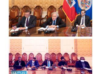 Crise : Une délégation de journalistes haïtiens reçue par le secrétaire général de l'OEA