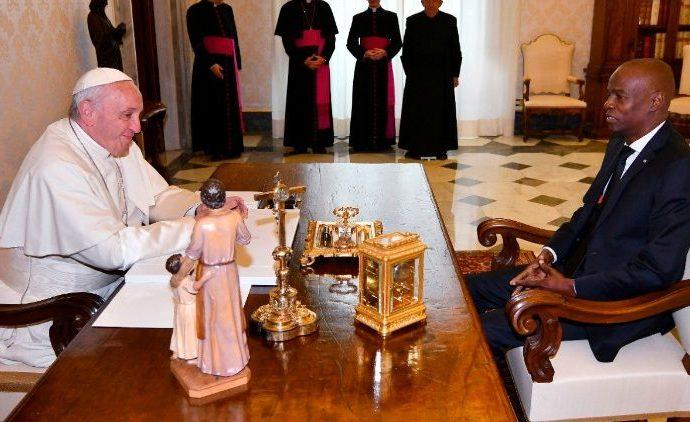 Attristé, le Pape François dénonce l'assassinat odieux de Jovenel Moïse