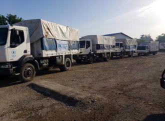 Haïti-Séisme : un autre convoi d'aide humanitaire a laissé Port-au-Prince en direction du Grand Sud