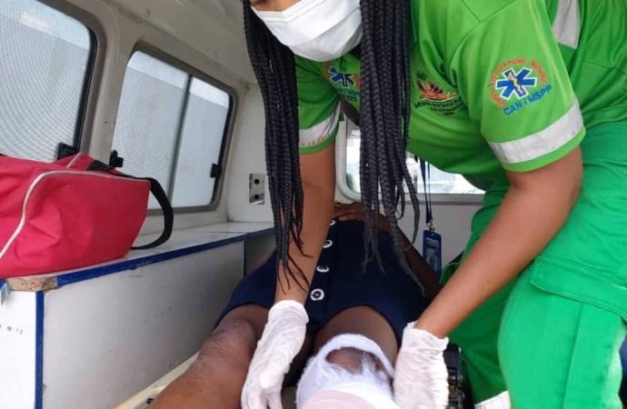 Séisme: Les blessés graves évacués