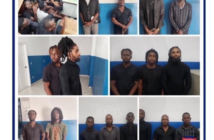 4 armes à feu, cinq véhicules confisqués, le #2 du gang « krache dife »tué, une quarantaine d'interpellés