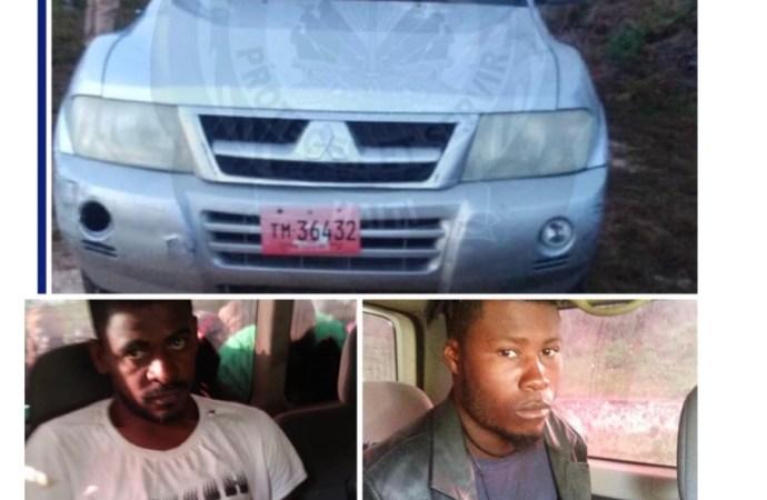Deux individus appréhendés, un véhicule confisqué, des objets volés récupérés par la PNH