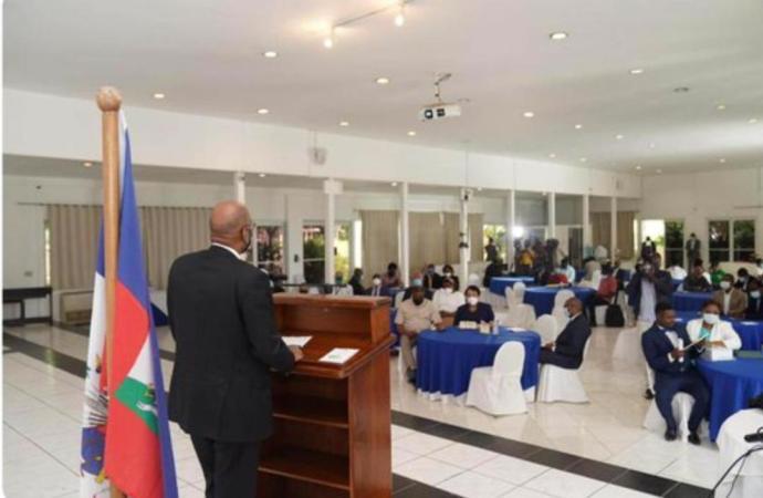 Haïti face à la pandémie du Covid-19 : Ariel Henry lance la cérémonie de présentation du Cadre de référence
