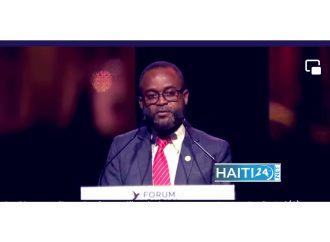 Forum mondial Normandie pour la paix : Jean Emmanuel Jacquet renouvelle l'engagement de l'État haïtien à travailler pour la paix