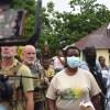 Séisme : Martine Moïse visite le Grand Sud