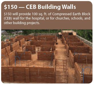 CEB Building Walls