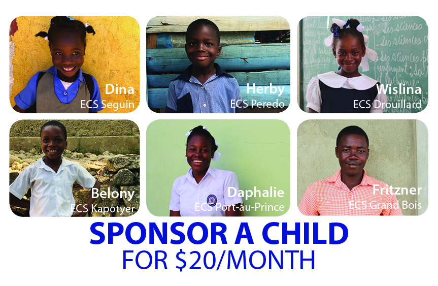 Don't miss the opportunity to do something for Haiti that will last by sponsoring a child! Your monthly gift of $20 connects you to a specific child like ...