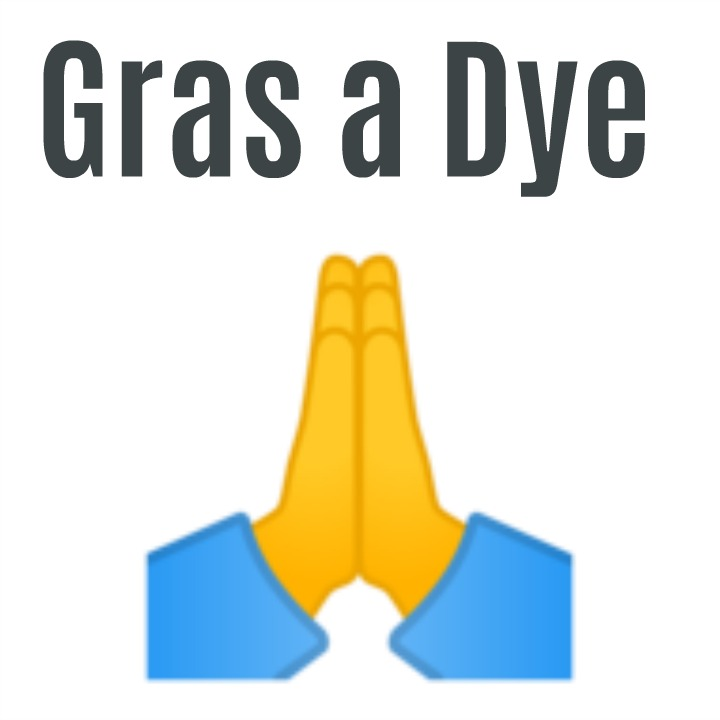 gras a dye (Haitian creole) thanks to God