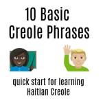 Basic Creole Phrases