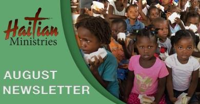 Haitian Ministries August Newsletter