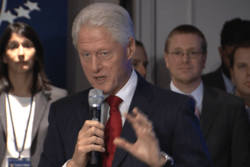 """Haiti now has """"most decisive government,"""" Bill Clinton says"""