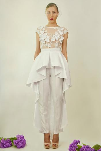 Haitian-American Designer Reinvents Wedding Fashion With Bridal Jumpsuits