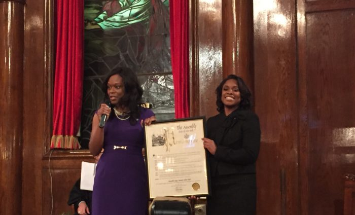 First Haitian American NY Civil Court Judge Dweynie E. Paul Inducted