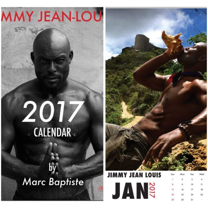Jimmy Jean-Louis Launches 2017 Haiti Calendar