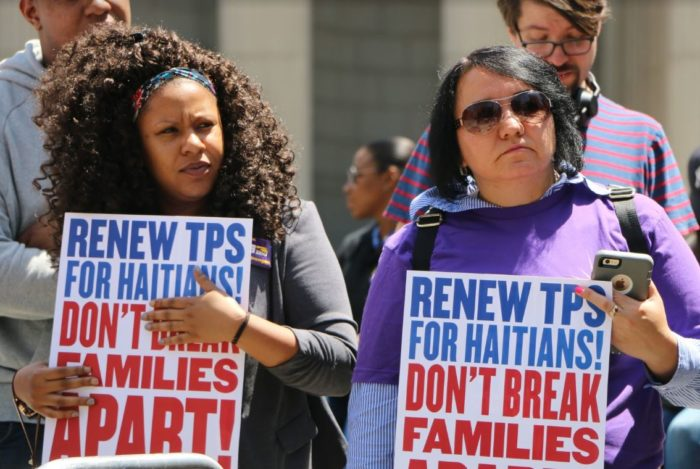 "TPS holders, advocates decry ruling that opens way for ""mass deportation"""