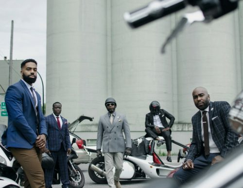 Haitian Bikers Celebrate Their Social Work with Photo Series