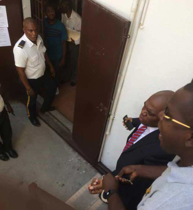 Former General Director of Haitian National Police, Godson Orelus is detained in St. Marc's Civil Prison