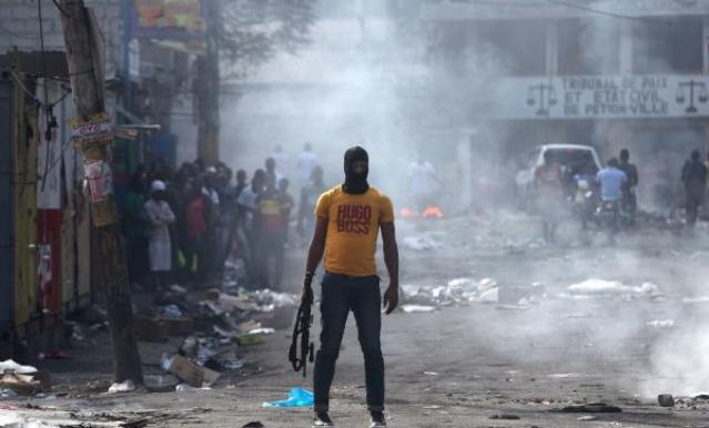 protests haiti, anti-government