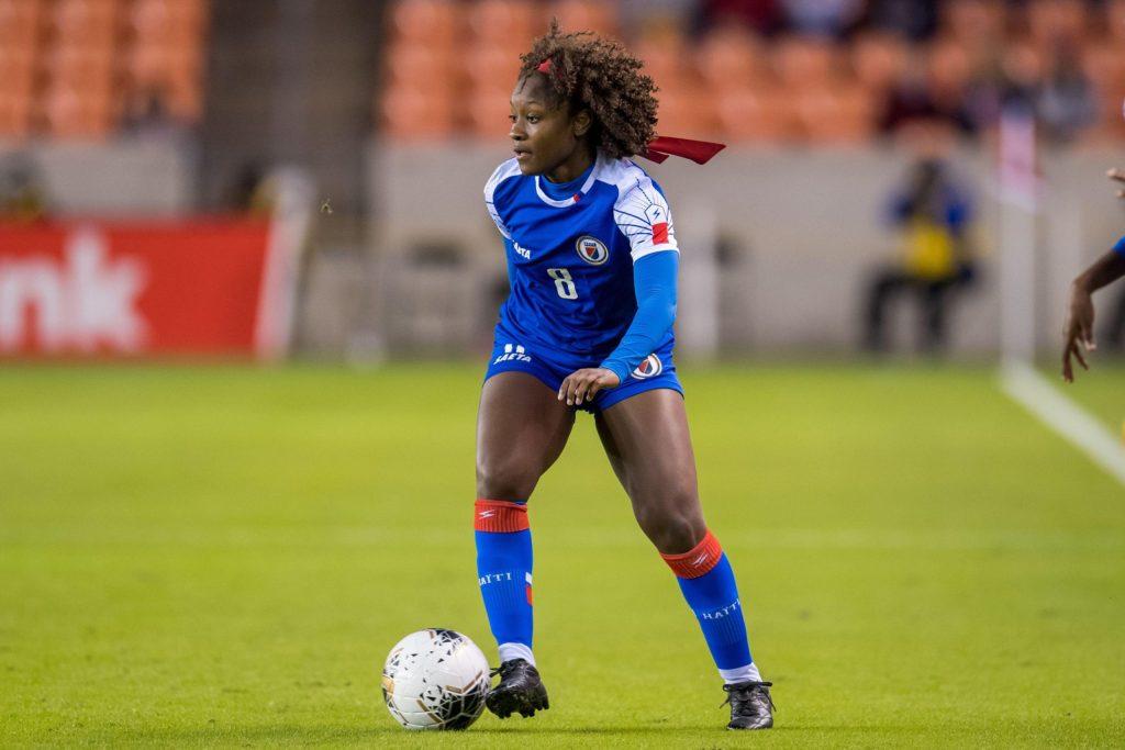 After Choosing Haiti, U.S born  Danielle Étienne Flourishes on the pitch