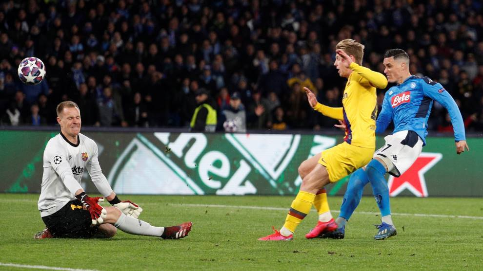Ter Stegen and the 20 saves that have kept Barcelona's European hopes alive