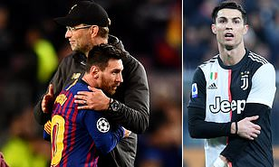Jurgen Klopp picks Lionel Messi over Cristiano Ronaldo in the great debate between the two