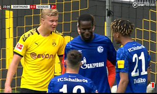 Bundesliga: Jean-Clair Todibo appears to tell Erling Braut Haaland 'go f*** your grandmother'